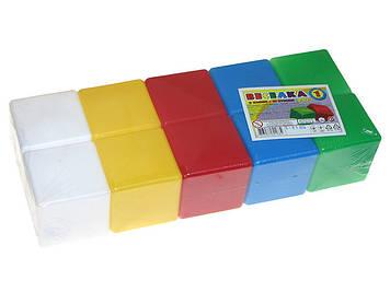 "Кубики пласт.""Веселка 1"",10 кубиків,""Технокомп"" №1684(16)"