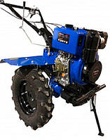 Мотоблок Forte 1350Е-3 синий, дизель (передачи 3+1)