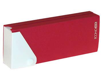 """Пенал """"Economix"""" пластик. на червоній кнопці №E31617-03(1)(20)"""