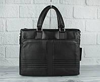 Кожаный портфель, сумка для документов Bally 8902-4 формата А-4