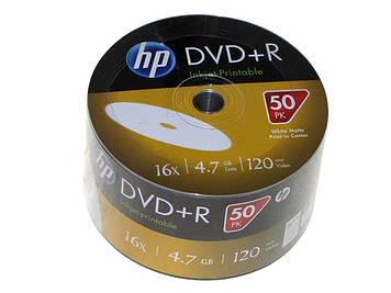 DVD+R 16х 4.7 Gb/120min HP bulk(50)