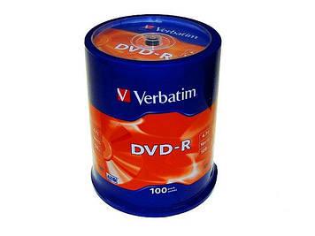 DVD+R 16х 4.7 Gb/120min Verbatim штир(100)