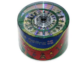 DVD-R 16х 4.7 Gb/120min Kaktuz bulk(50)