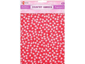 "Папір для декупажу ""Santi"" Country garden 40х60см 2арк. №952507"