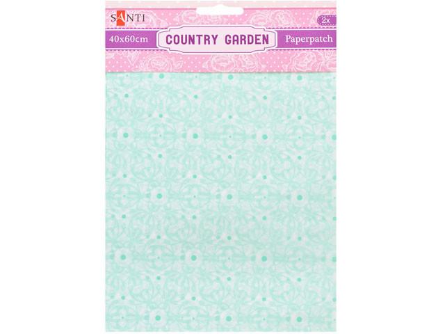 "Папір для декупажу ""Santi"" Country garden 40х60см 2арк. №952511"