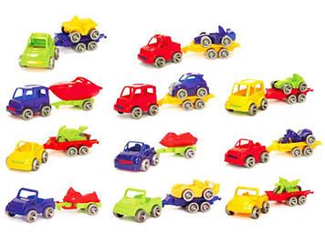 """Авто з причеп """"Kid Cars Sport"""" №52600 24х8х7см"""