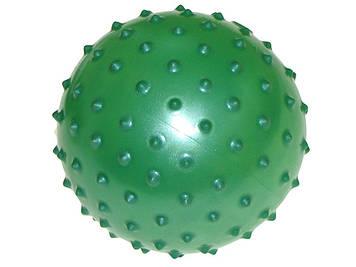 """М'яч масажний 4"""" ПВХ,6кольор.,25г №MS 0022(250)"""