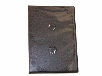Футляр Box DVD 4шт 14мм(100)