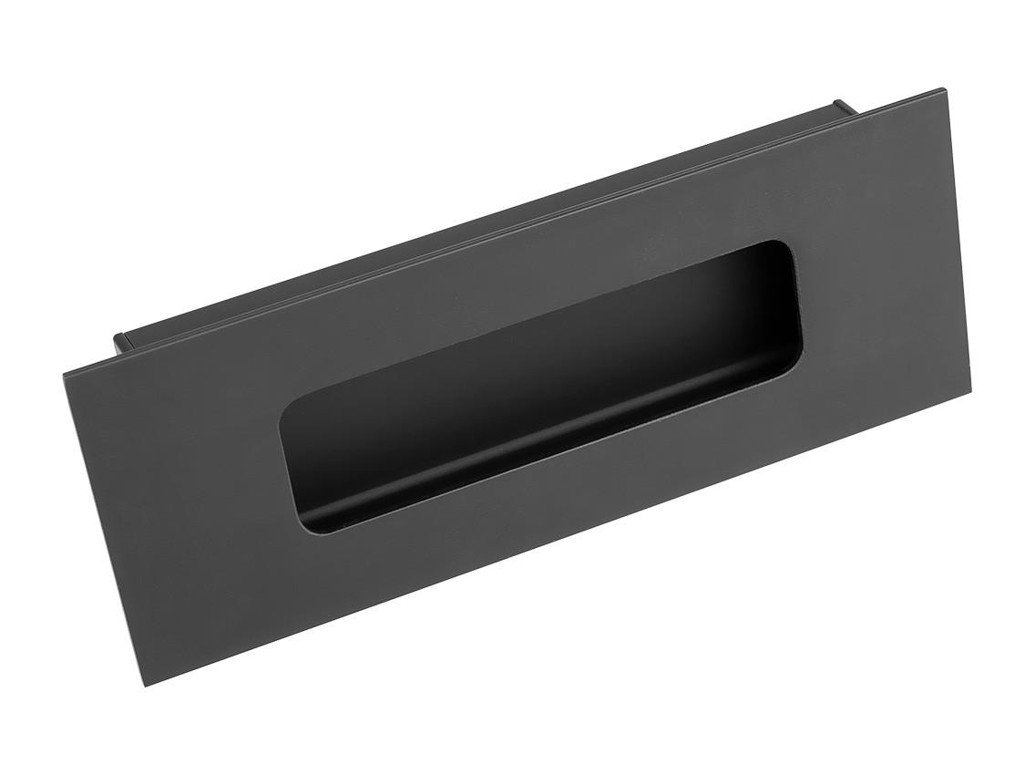 Ручка меблева врізна Virno Style 412 чорний