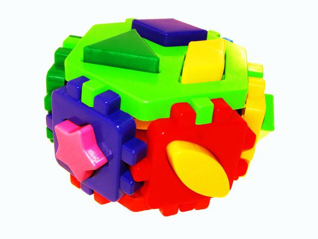 "Куб-сортер ""Розумний малюк"" Гексагон-2,""Технокомп"" №1998(20)"