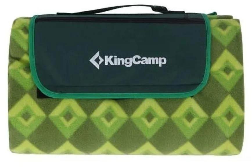 Коврик для пикника KingCamp Picnik Blankett KG4701, зеленый