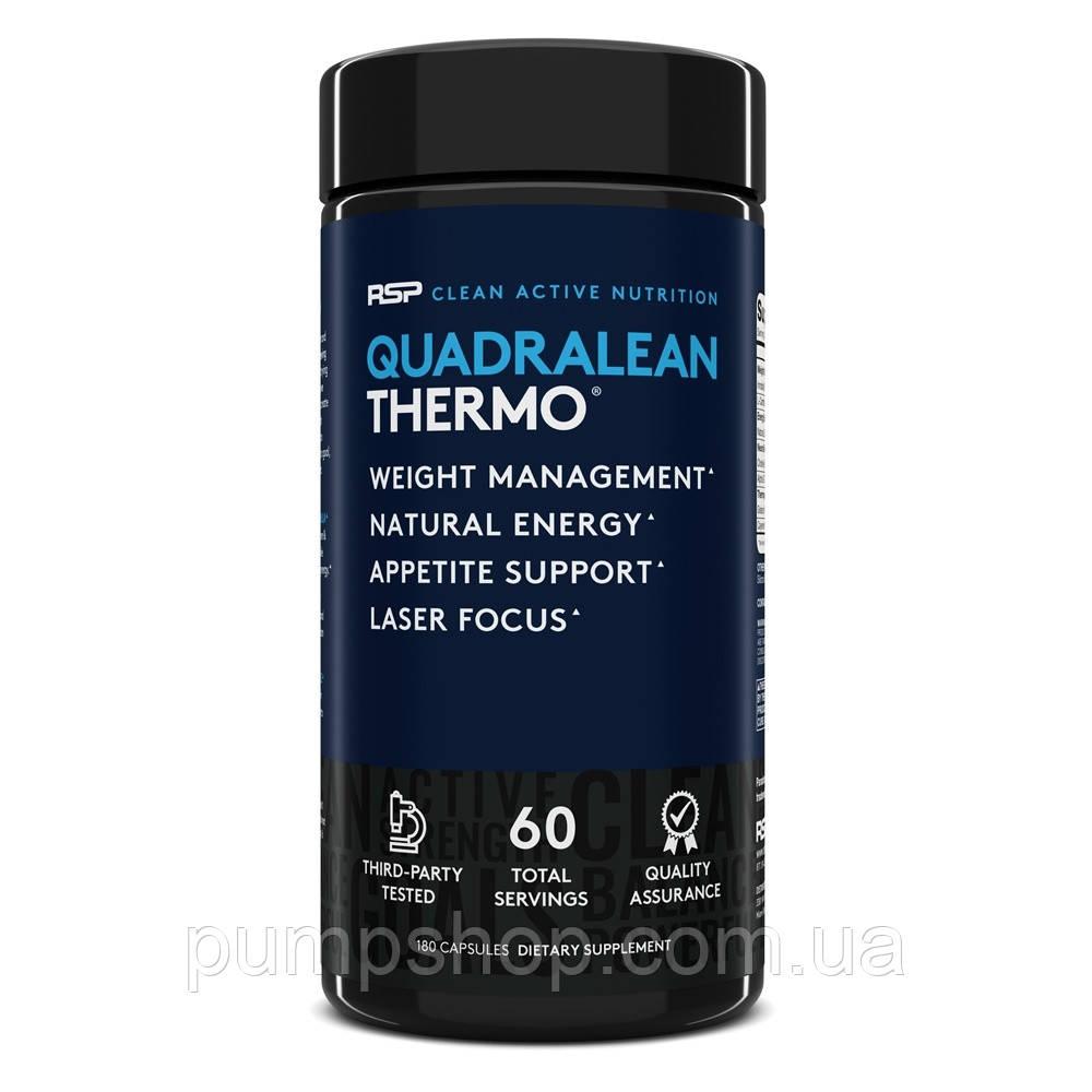 Жиросжигатель RSP Nutrition Quadralean Thermogenic 180 капс. (60 порц.)