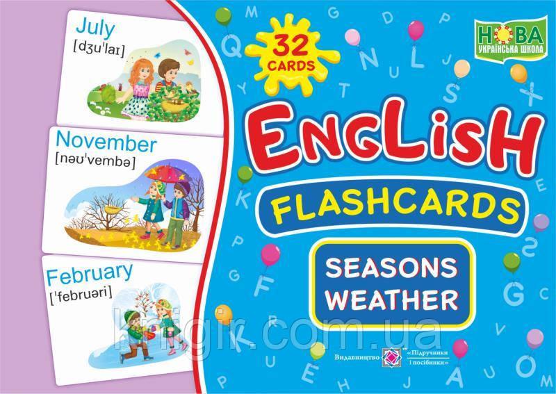 Seasons Weather /Пори року (Набір карток 12х17 см)