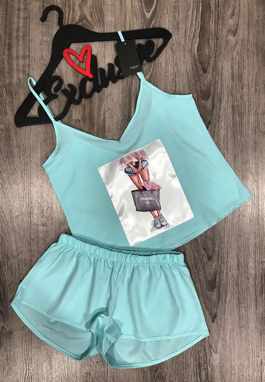 Стильний комплект одягу майка+шорти Fashion.