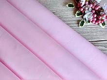 Фоамиран зефирный, нежно розовый, 50 х 50 см., 1.5 мм., Китай