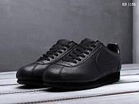 Мужские кроссовки Nike Cortez (черные)