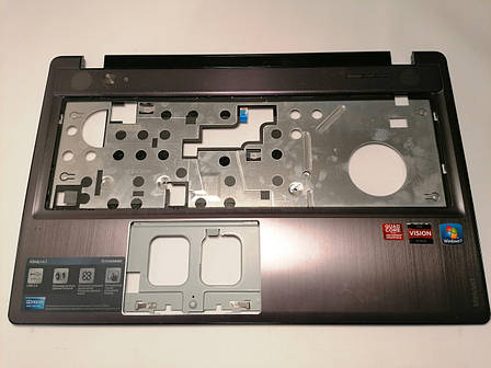 Б/У корпус крышка клавиатуры, (топкейс) для Lenovo Ideapad Z580 Z585 (3KLZ3TALV00), фото 2