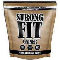 Гейнер Strong Fit Gainer Low Protein, 909 грамм - шоколад-кокос
