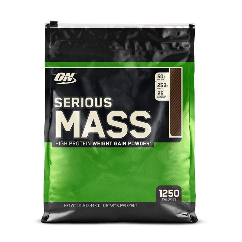 Гейнер Optimum Serious Mass, 5.45 кг Ваниль