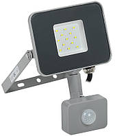 Прожектор СДН 07-10Д світлодіодний сірий з ДД IP44