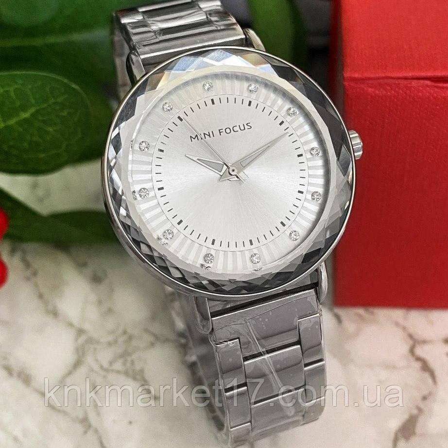 Mini Focus MF0040L.02 All Silver Diamonds
