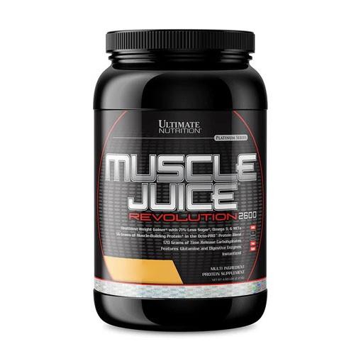 Гейнер Ultimate Muscle Juice Revolution 2600, 2.12 кг Печенье крем