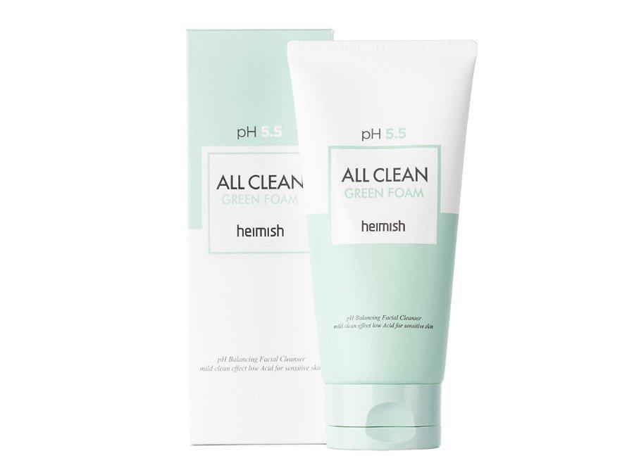 Пенка для умывания Heimish All Clean Green Foam рH 5.5 (миниатюра)