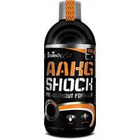 Аминокислота BioTech AAKG Shock, 1 литр Вишня