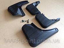 Брызговики пластик, под оригинал под порог Mercedes-benz glk-class (x204) (мерседес-бенц жлк х204) 2008-2012