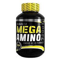Амінокислота BioTech Mega Amino 3200, 100 таблеток