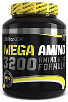 Амінокислота BioTech Mega Amino 3200, 500 пігулок