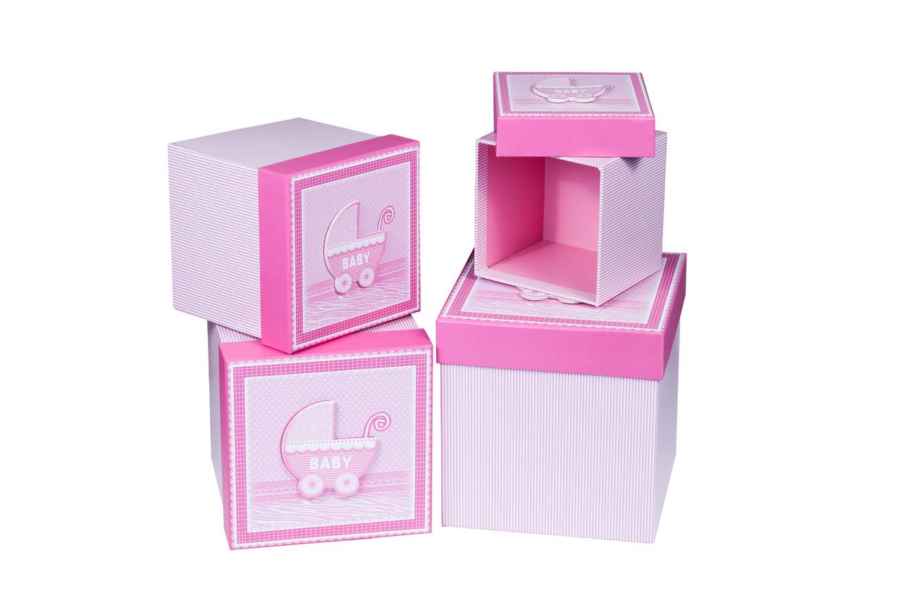 Подарочные коробки 4 шт. в комплекте