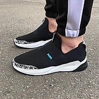 Черные мужские кроссовки в стиле Puma, фото 1