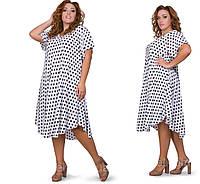 Женские платья летние удлиненные размеры 54-58