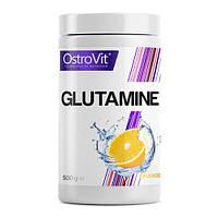 Аминокислота OstroVit Glutamine, 500 грамм Апельсин