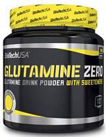 Амінокислота BioTech Glutamine Zero, 300 грам Лимон
