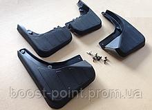 Брызговики пластик, под оригинал без порога Mercedes-benz glk-class (x204) (мерседес-бенц жлк х204) 2008-2012