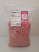 Пленочный воск для депиляции Depiltouch professional Роза1 кг, 500г
