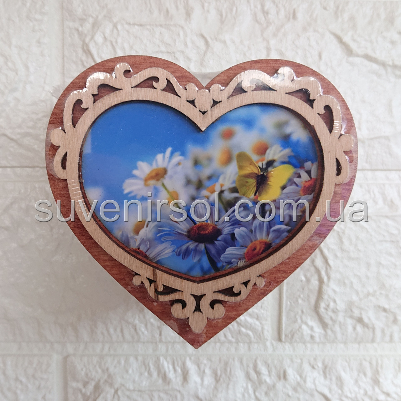 Шкатулка Серце мале ф