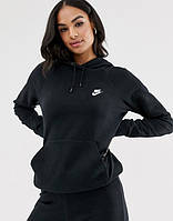 Женская кофта кенгуру Nike (Найк) Черная