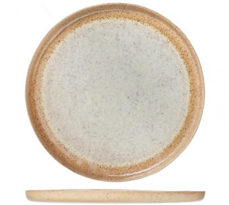 Тарелка мелкая - 21.5 см, Бежевая / Кремовый (Cosy&Trendy) Innovar