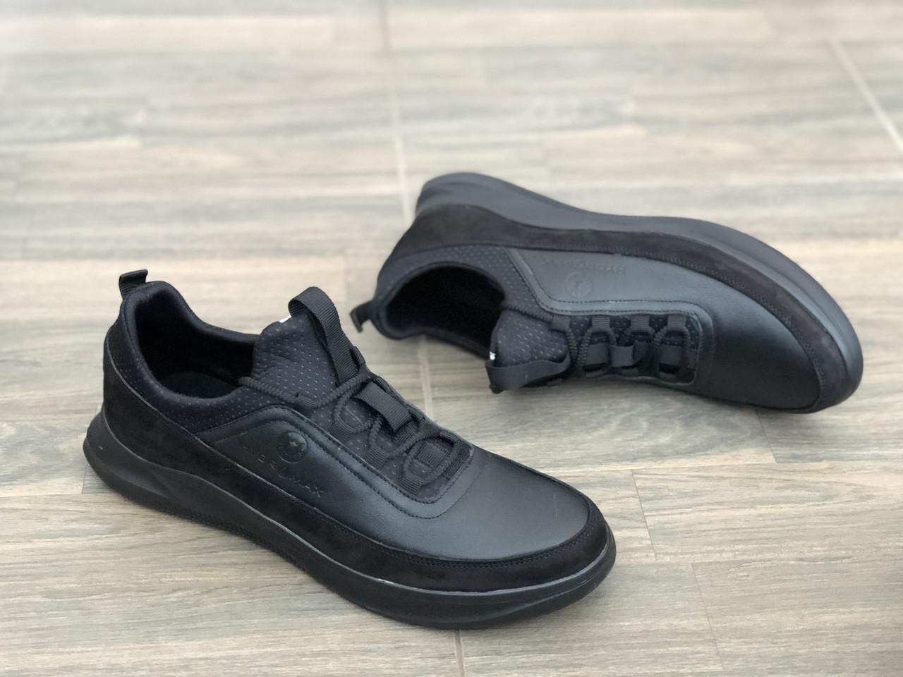 Кожаные мужские кроссовки Extrem 1329 ч/к размеры 40,42,43,44,45