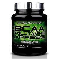 BCAA Scitec BCAA+Glutamine Xpress, 600 грамм Лайм