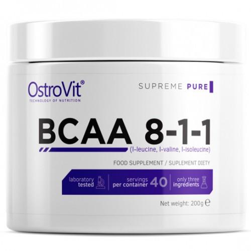 BCAA OstroVit BCAA 8-1-1, 200 грамм Натуральный