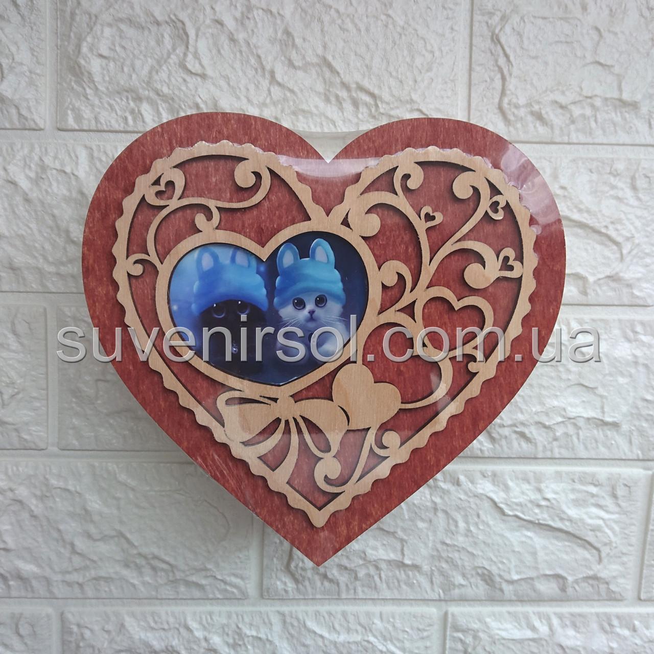 Шкатулка Сердце большое