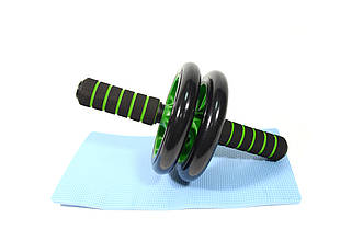 Колесо для пресса double wheel (домашний тренажер)