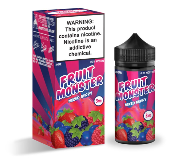 Премиум жидкость Fruit Monster - Mixed Berry 100ml [3mg] (Original)