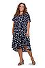 Женские платья летние удлиненные размеры 54-58, фото 4