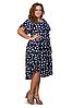 Женские платья летние удлиненные размеры 54-58, фото 3