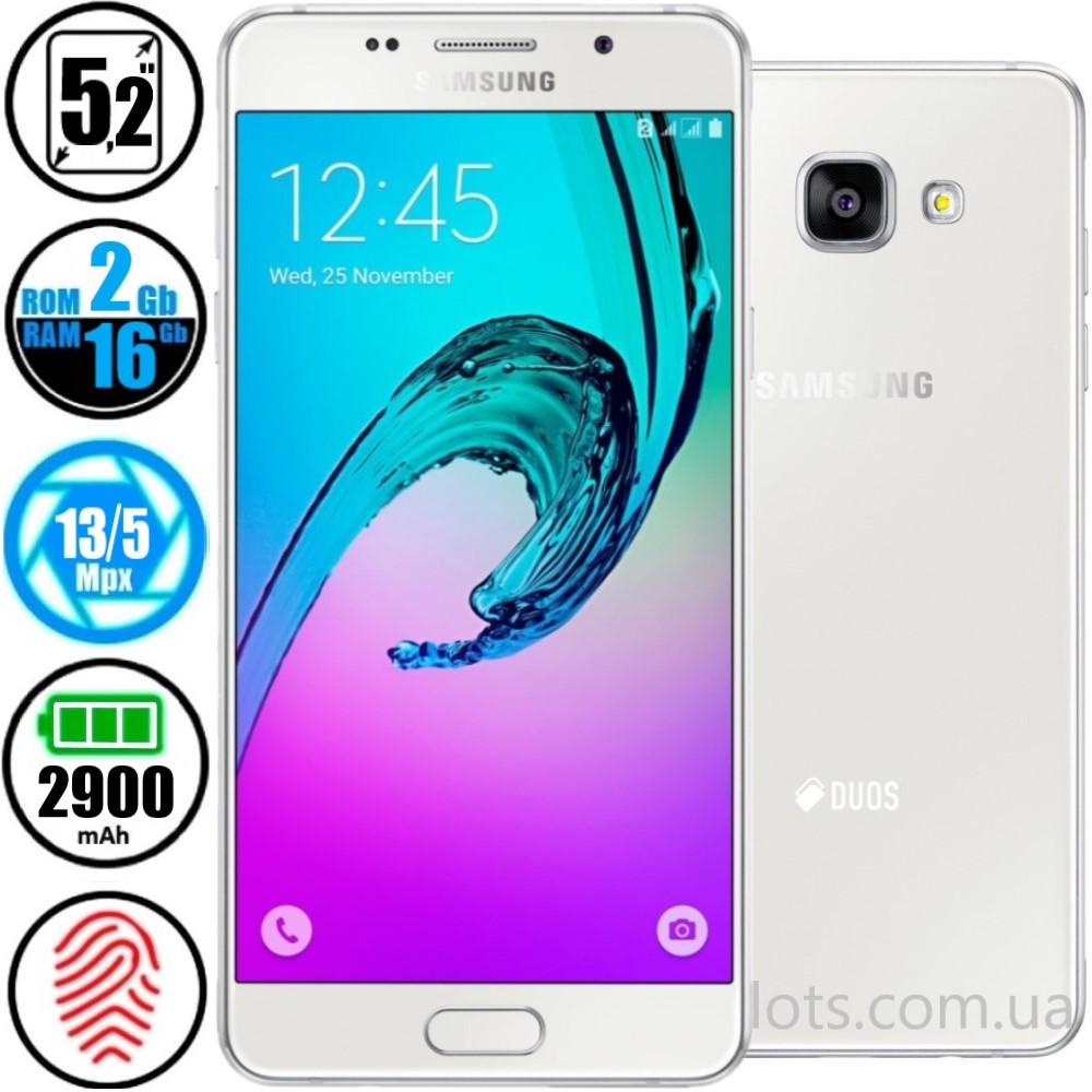 Смартфон Samsung Galaxy A5 White A510F (2/16Gb) NFC - Оригинал